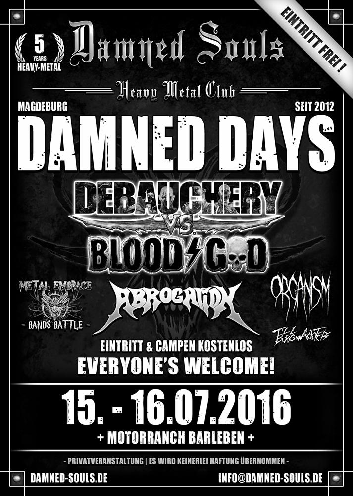 Damned Days 2016