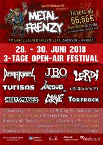 Metal Frenzy 2018