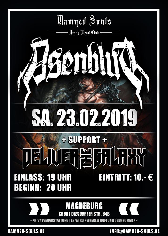 Asenblut Damned-Souls 23-02-2019
