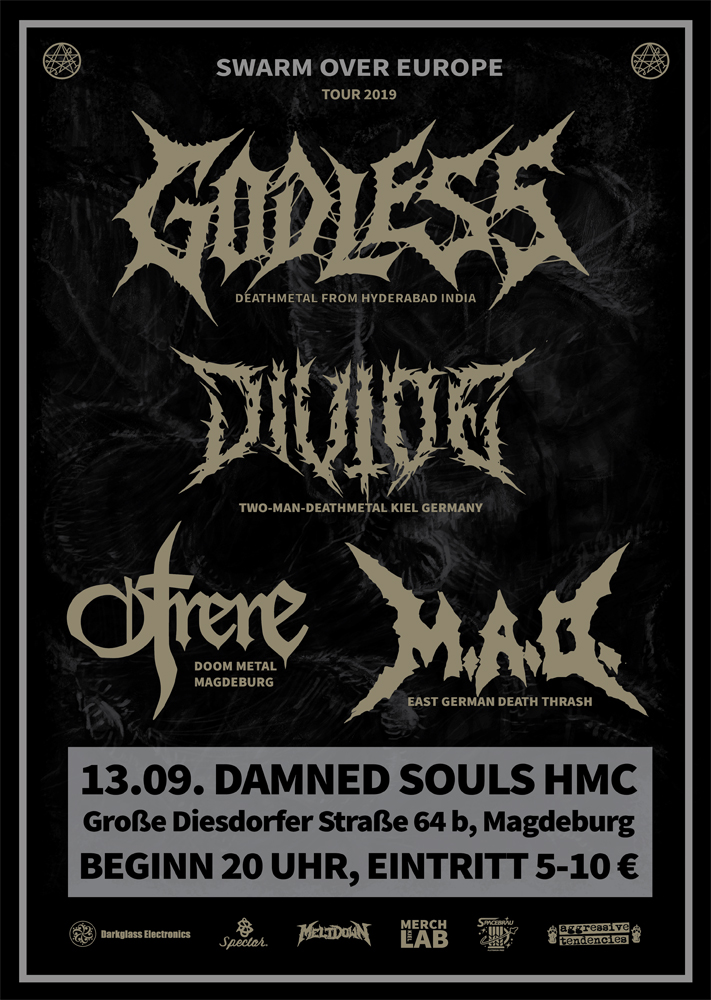 Damned Souls - Swarm over Euope - 2019-09-13