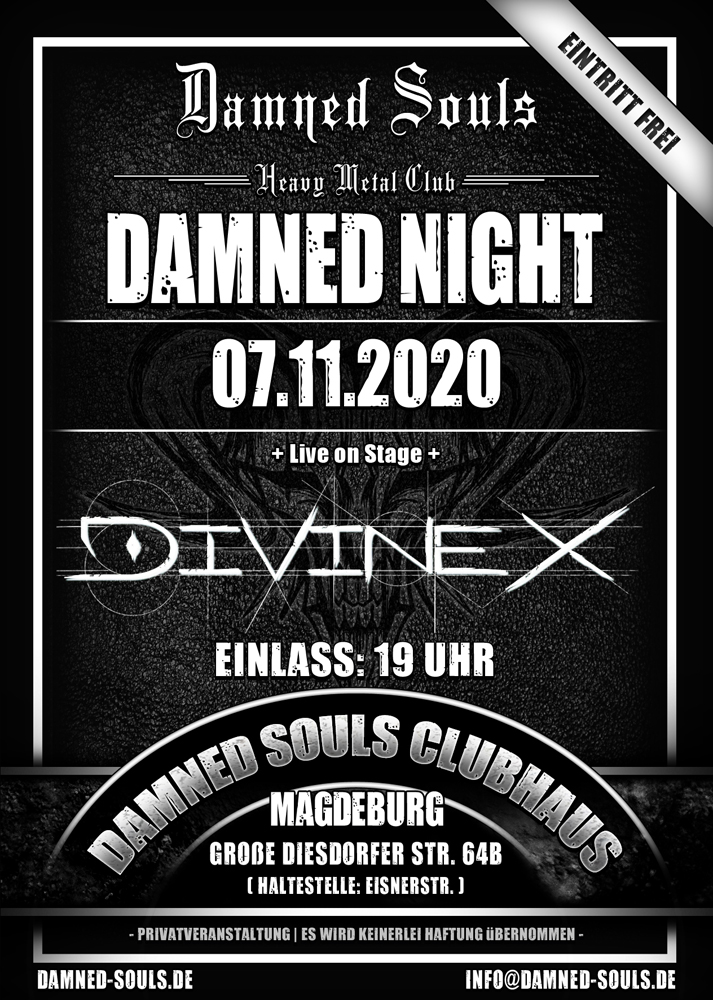 Damned Souls - Damned Night - 07-11-2020