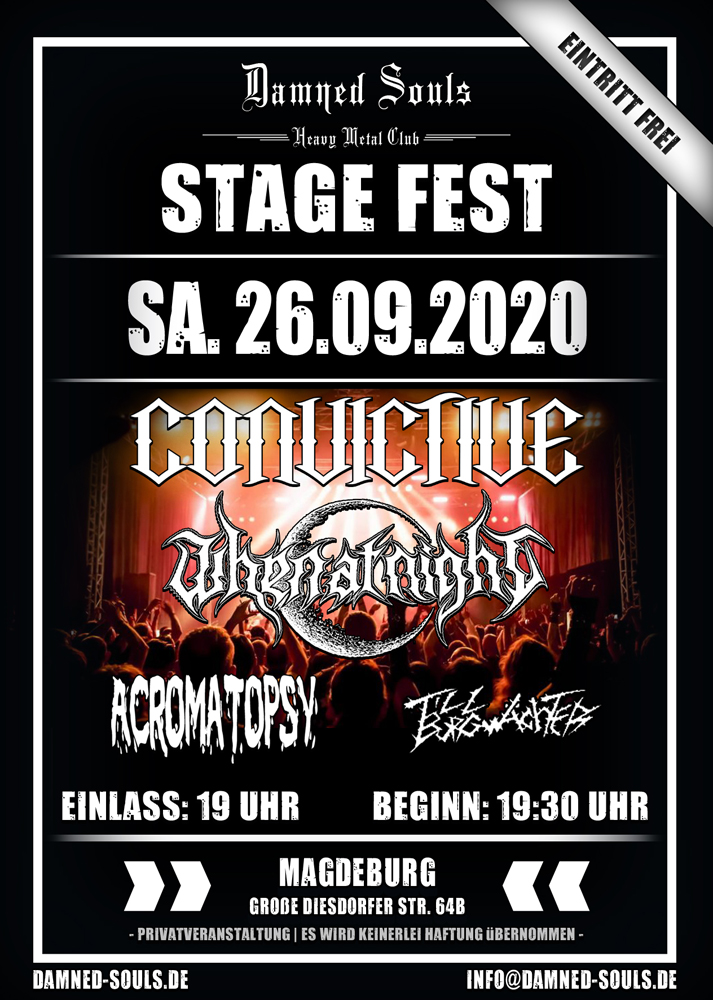Damned Souls - Stage Fest - 26.09.2020