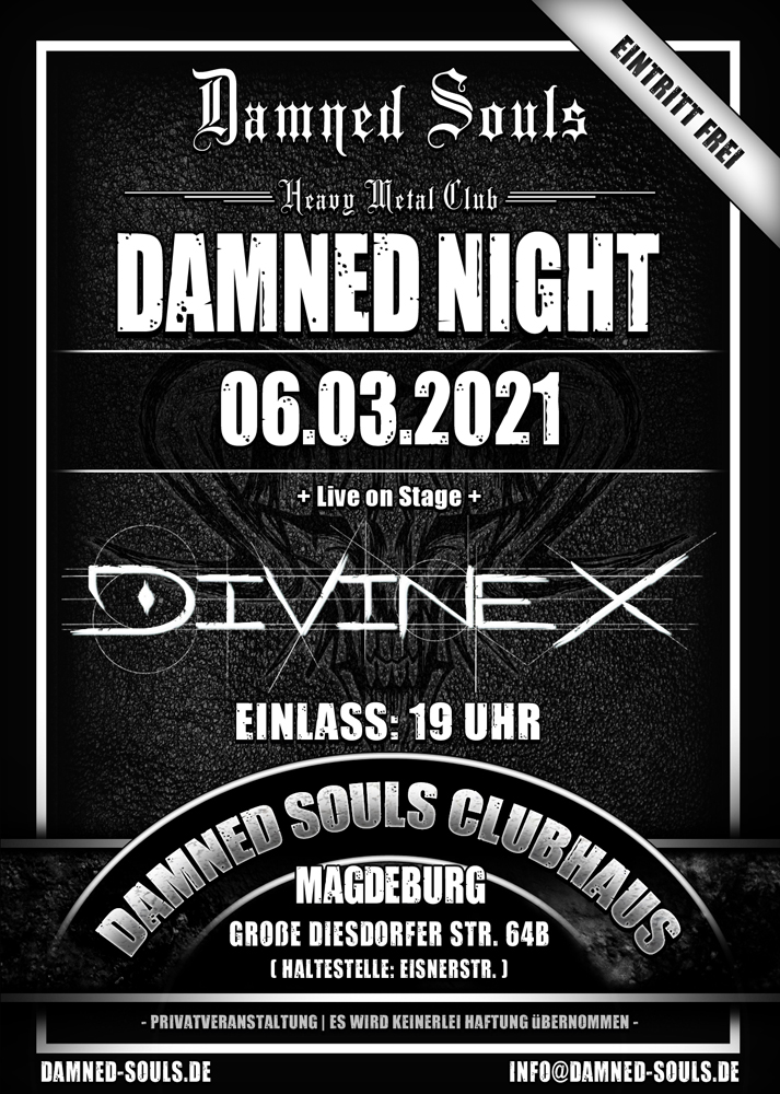 Damned Souls - Damned Night - 06-03-2021