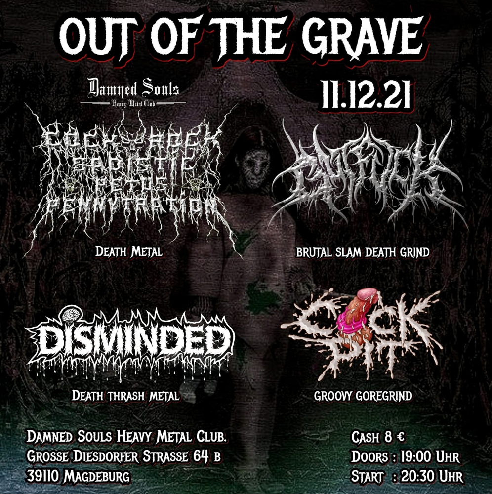 Damned Souls - Out of the Grave - 11.12.2021