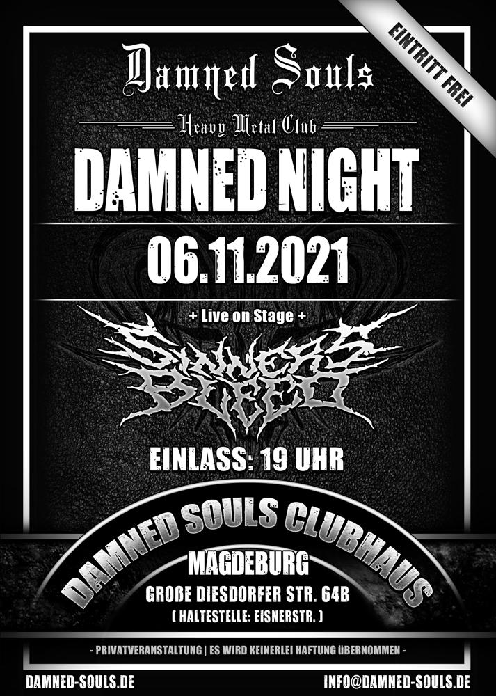 Damned Souls - Damned Night - 06-11-2021