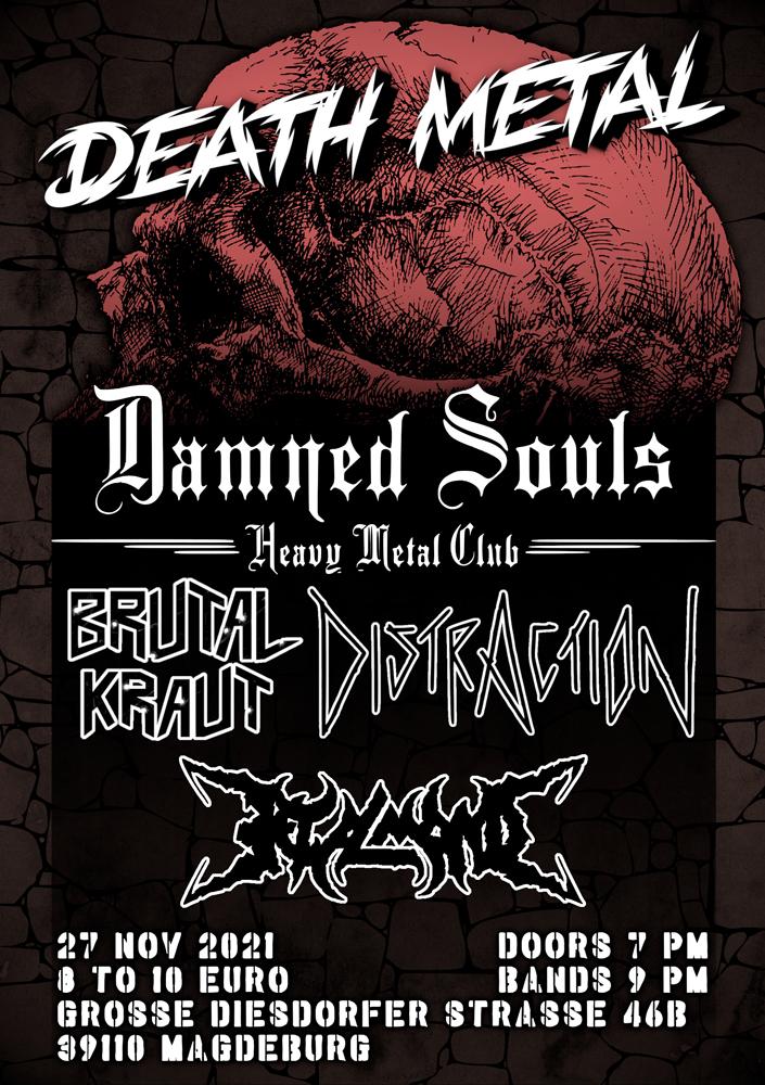 Damned Souls - Death Metal - 27.11.2021